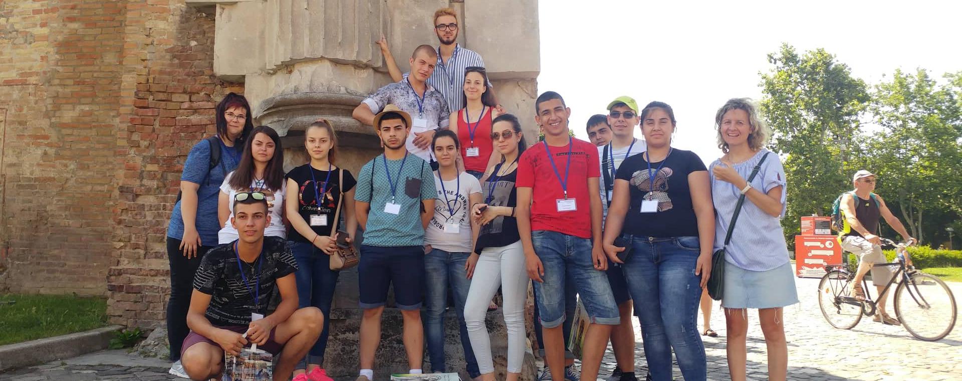 Ученици от Гимназията по туризъм на практика на Адриатическата Ривиера