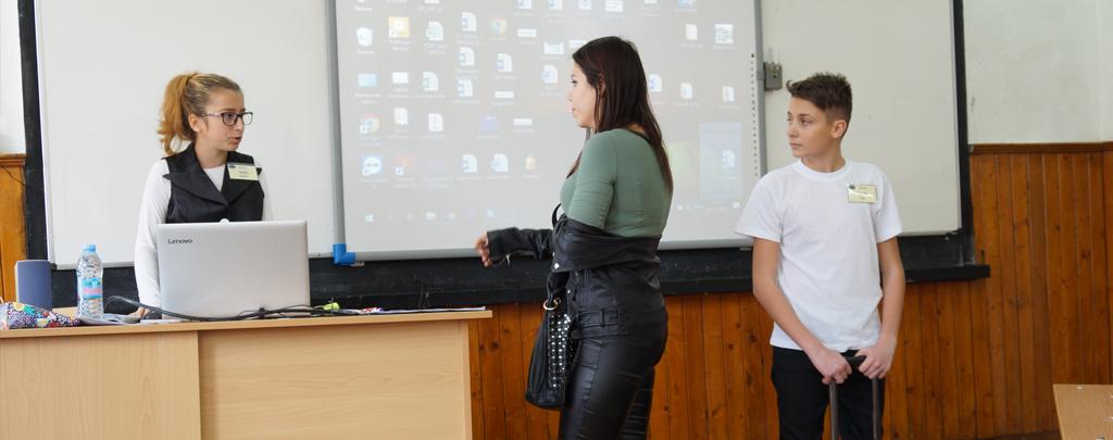 Гимназията по туризъм демонстрира иновативни уроци пред гости от страната