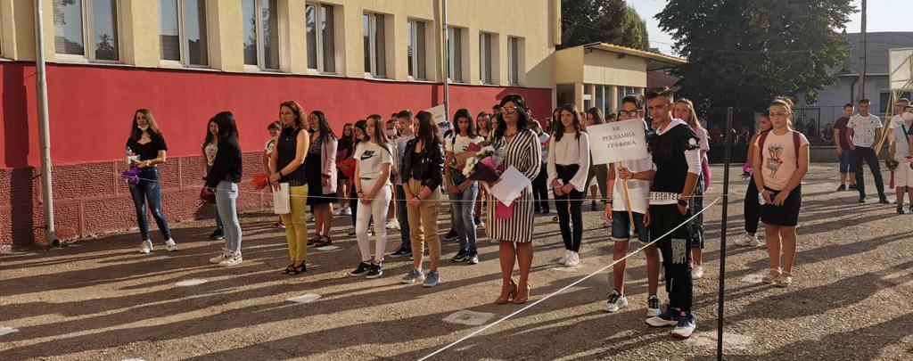 При спазване на противоепидемични мерки започна учебната година в Гимназията по туризъм
